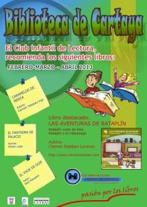 El Club Infantil de Lectura de Cartaya recomienda...